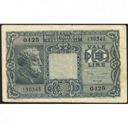 Italie - Pick 32b - 10 lire - 1948 - Etat : TB+