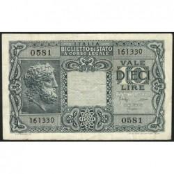 Italie - Pick 32c - 10 lire - 1950 - Etat : TTB-