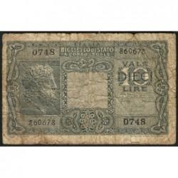 Italie - Pick 32c - 10 lire - 1950 - Etat : B-