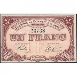 Sens - Pirot 118-1 - 1 franc - 04/09/1915 - Etat : NEUF