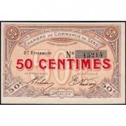 Sens - Pirot 118-2a - 50 centimes - 07/03/1916 - Etat : pr.NEUF