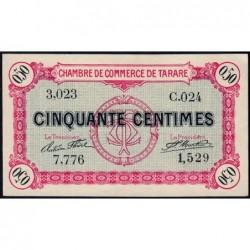 Tarare - Pirot 119-16 - 50 centimes - Série C.024 - 22/01/1916 - Etat : pr.NEUF