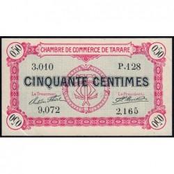 Tarare - Pirot 119-16 - 50 centimes - Série P.128 - 22/01/1916 - Etat : SUP