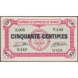 Tarare - Pirot 119-16 - 50 centimes - Série T.160 - 22/01/1916 - Etat : pr.NEUF