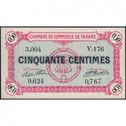 Tarare - Pirot 119-16 - 50 centimes - Série V.176 - 22/01/1916 - Etat : NEUF