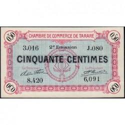 Tarare - Pirot 119-23 - 50 centimes - Série J.080 - 21/04/1917 - Etat : pr.NEUF