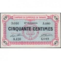 Tarare - Pirot 119-23 - 50 centimes - Série J.080 - 21/04/1917 - Etat : SUP