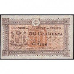 Tarbes - Pirot 120-1 - 50 centimes - Sans série - 07/02/1915 - Etat : TB+