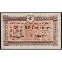 Tarbes - Pirot 120-1 variété - 50 centimes - Sans série - 07/02/1915 - Etat : TB+