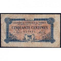 Tarbes - Pirot 120-24 - 50 centimes - Série IV - 07/05/1922 - Etat : B+
