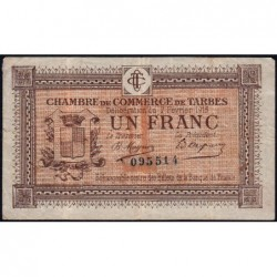Tarbes - Pirot 120-5 - 1 franc - Sans série - 07/02/1915 - Etat : TB