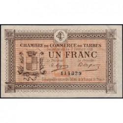 Tarbes - Pirot 120-5 variété - Sans série - 1 franc - 07/02/1915 - Etat : TTB+