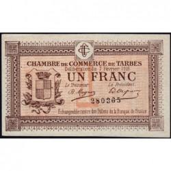 Tarbes - Pirot 120-5 - 1 franc - Sans série - 07/02/1915 - Etat : SUP