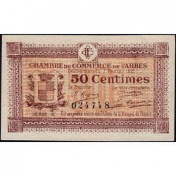 Tarbes - Pirot 120-8 - 50 centimes - Série II - 07/02/1915 - Etat : SUP+