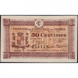 Tarbes - Pirot 120-8 - Série II - 50 centimes - 07/02/1915 - Etat : SUP+