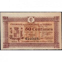 Tarbes - Pirot 120-8 - 50 centimes - Série II - 07/02/1915 - Etat : SUP