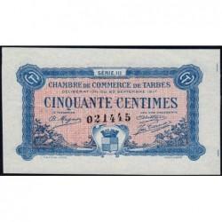 Tarbes - Pirot 120-12 - 50 centimes - Série III - 23/09/1917 - Etat : SUP+