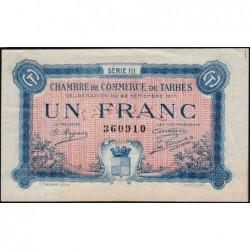 Tarbes - Pirot 120-14 - Série III - 1 franc - 23/09/1917 - Etat : TTB+
