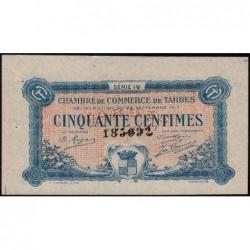Tarbes - Pirot 120-16 - 50 centimes - Série IV - 23/09/1917 - Etat : SUP+