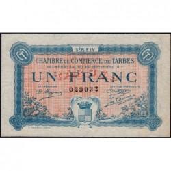 Tarbes - Pirot 120-18 variété - Série IV - 1 franc - 23/09/1917 - Etat : SUP