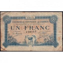 Tarbes - Pirot 120-18 - Série IV - 1 franc - 23/09/1917 - Etat : B+