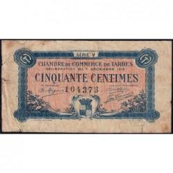 Tarbes - Pirot 120-20 - 50 centimes - Série V - 07/12/1919 - Etat : B+
