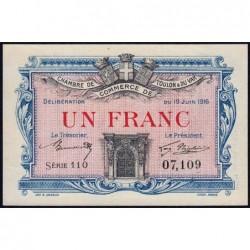 Toulon - Pirot 121-4 - 1 franc - Série 110 - 19/06/1916 - Etat : pr.NEUF