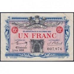 Toulon - Pirot 121-31 - 1 franc - Série 368 - 23/12/1920 - Etat : SUP