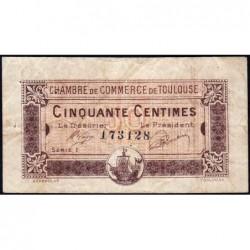 Toulouse - Pirot 122-34 - Série 1 - 50 centimes - 19/11/1919 - Etat : TB