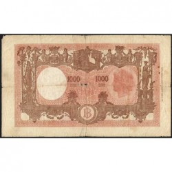 Italie Pick 72c 1 000 Lire 12 07 1946 Etat Tb