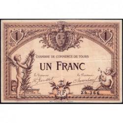 Tours - Pirot 123-1 - 1 franc - 01/05/1915 - Etat : TTB