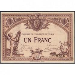 Tours - Pirot 123-1 - 1 franc - 01/05/1915 - Etat : SUP+