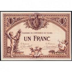 Tours - Pirot 123-1 - 1 franc - 01/05/1915 - Etat : pr.NEUF