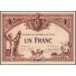 Tours - Pirot 123-1 - 1 franc - 01/05/1915 - Etat : SPL+