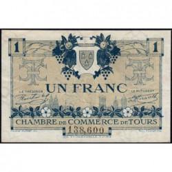 Tours - Pirot 123-4 - 1 franc - 08/05/1920 - Etat : TTB+