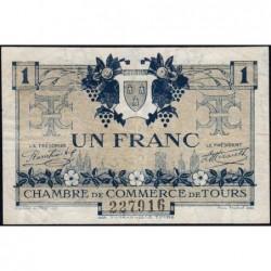 Tours - Pirot 123-4 - 1 franc - 08/05/1920 - Etat : TB+