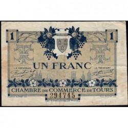 Tours - Pirot 123-4 - 1 franc - 08/05/1920 - Etat : TB
