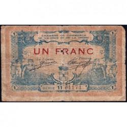 Valence (Drôme) - Pirot 127-8 - Série 11 - 1 franc - 23/02/1915 - ETAT : B-