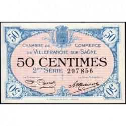 Villefranche-sur-Saône - Pirot 129-7 - 50 centimes - 2me Série - 30/06/1918 - ETAT : NEUF