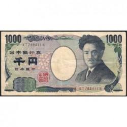 Japon - Pick 104b - 1'000 yen - Série KT - 2004 - Etat : TTB