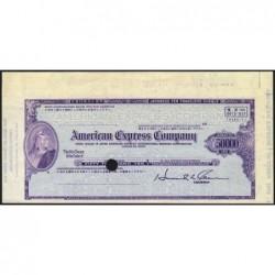 Japon - Chèque de voyage - American Express Company - 50'000 yen - 1970 - Spécimen - Etat : SUP