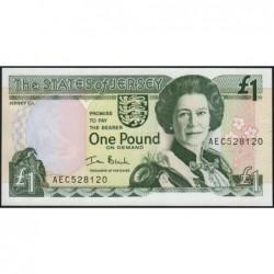 Jersey - Pick 26b - 1 pound - 2000 - Série AEC - Etat : NEUF
