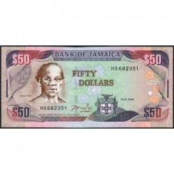 Jamaïque - Pick 79e - 50 dollars - Série HX - 15/01/2004 - Etat : NEUF