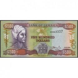 Jamaïque - Pick 81b - 500 dollars - Série HH - 15/01/2003 - Etat : NEUF