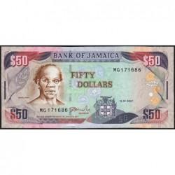 Jamaïque - Pick 83b - 50 dollars - Série MG - 15/01/2007 - Etat : NEUF