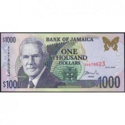 Jamaïque - Pick 86b - 1'000 dollars - Série DV - 15/01/2004 - Etat : NEUF
