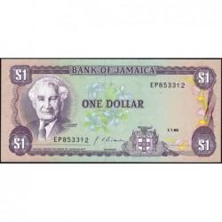 Jamaïque - Pick 68Ad - 1 dollar - Série EP - 01/01/1990 - Etat : NEUF