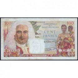 AEF - Pick 24 - 100 francs - France Outre-Mer - Série X.20 - 1947 - Etat : TTB