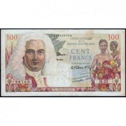 AEF - Pick 24 - 100 francs - France Outre-Mer - Série H.22 - 1947 - Etat : TTB