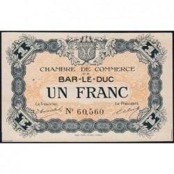 Bar-le-Duc - Pirot 19-3 - 1 franc - Sans date (1915) - Etat : SUP+